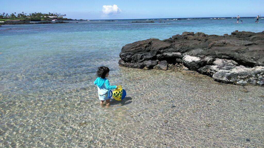 ハワイ島への当選旅行