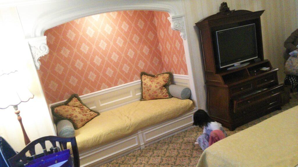東京ディズニーランドホテル宿泊部屋