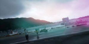 雨上がりの戸田港