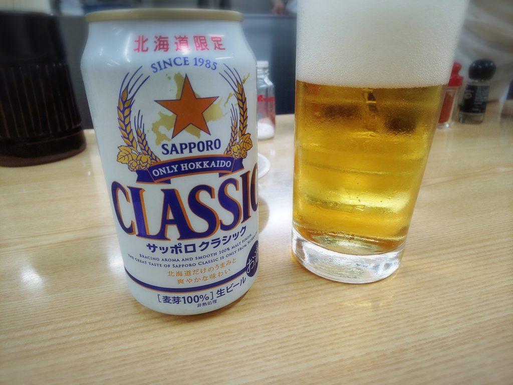 味の三平 札幌ビール
