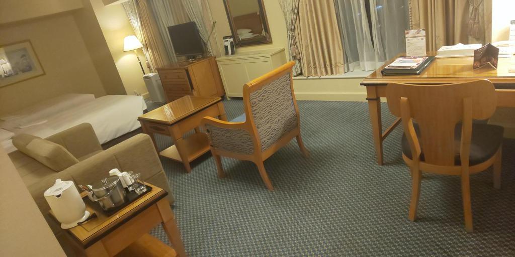 リーガロイヤルホテル 室内様子