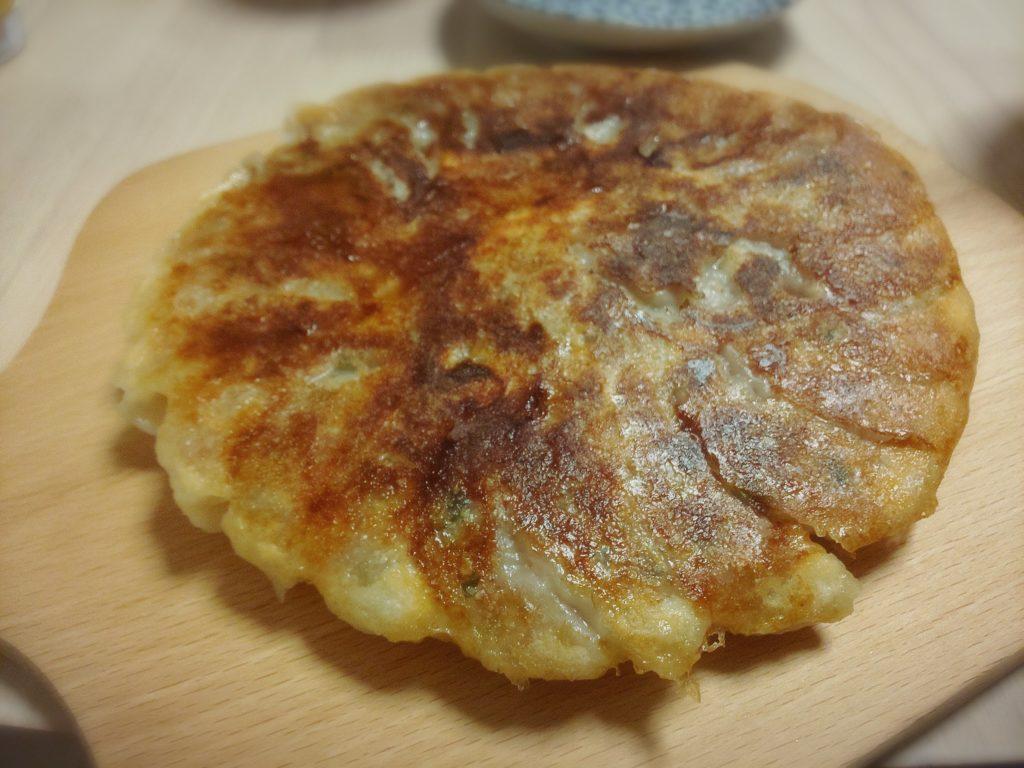 懸賞晩御飯(鉄鍋餃子)